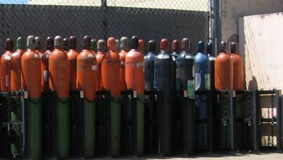 Cylinder Storage Photo