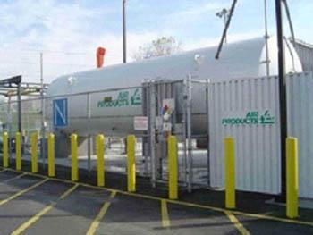 Hydrogen Storage Tank Photo